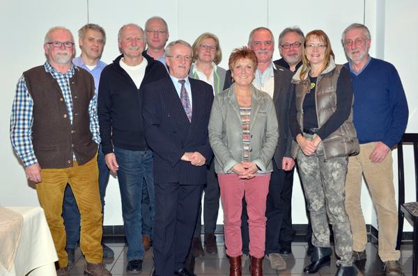 Herrenberg Gültstein Römerhof Freie Wähler / der Vorstand / Foto: Holom